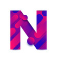 alphabet bg gradients n