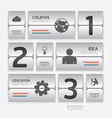 business travel infographic airport timetable vector image vector image