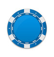 creative of set casino poker vector image