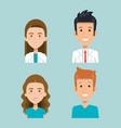 healthcare professionals design vector image vector image