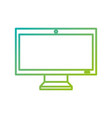 monitor screen pc device technology wireless vector image vector image