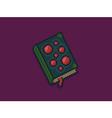 Pixel Art Spellbook vector image