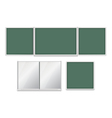 School Boards Set vector image
