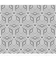 seamless pattern from isometric cubes vector image vector image