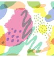 Seamless pattern with imitation watercolor stains vector image vector image