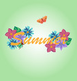Summer background banners