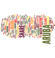 best in the carribean text background word cloud vector image vector image