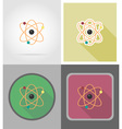 school education flat icons 06 vector image vector image