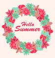 summer background banners vector image vector image