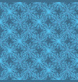 trendy and blue festive christmas star snowflakes vector image