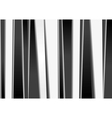 black and white stripes backdrop vector image vector image