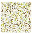 Color Leaf Pattern vector image vector image