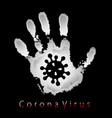 coronavirus 2019-ncov corona virus 3d icon white vector image vector image