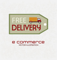 e-commerce shopping online vector image vector image