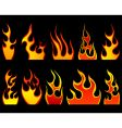 Flame set vector | Price: 1 Credit (USD $1)