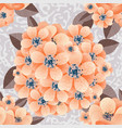 flower composition on the background vector image vector image