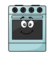 Fun kitchen appliance - a happy oven vector image
