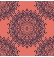 Mandala Print Seamless vector image vector image