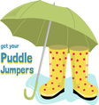 Puddle Jumpers vector image vector image