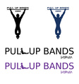 pull up bands vector image