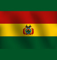 sg170602-flag of bolivia - vector image