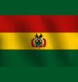 sg170602-flag of bolivia vector image