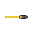 Tape measure isolated flat design vector image vector image