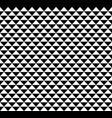 black and white hawaiian tribal pattern design vector image vector image