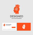 business logo template for capability head human vector image