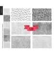 Handdrawn patterns vector image