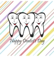 Happy Dentist Day vector image