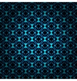 Lights abstract shape on dark background vector image vector image