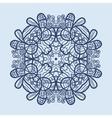 Mandala Print vector image vector image
