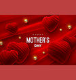 mothers day festive event banner vector image vector image