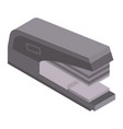 paper stapler icon isometric style vector image vector image