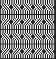 repeating geometric overlapping lines seamless vector image
