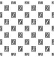 retro wood calculator pattern seamless vector image vector image
