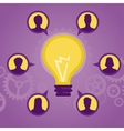 start up concept - flat icons and signs vector image vector image