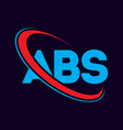 abs letter logo design