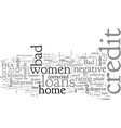 buy a house even with bad credit home loans vector image vector image