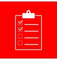 Checklist sign vector image vector image