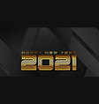 modern gold and black banner design for new vector image vector image