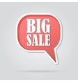 text bubble BIG SALE vector image