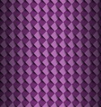 Violet square with shadow abstract background vector image vector image