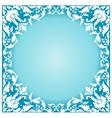 White frame vector image vector image