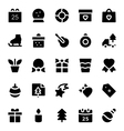 Christmas Icons 5 vector image vector image