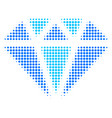 diamond halftone icon vector image vector image