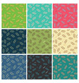 double zig zag lines seamless pattern vector image vector image