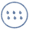 drops fabric textured icon vector image vector image