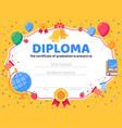 graduate diploma school graduation graduates vector image